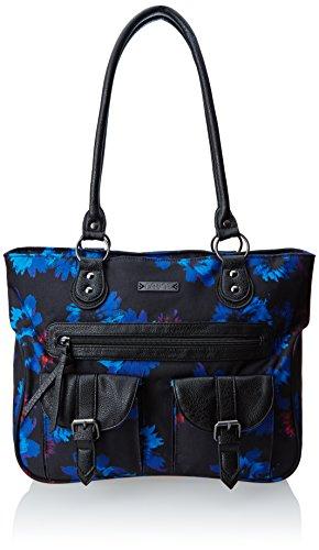 DAKINE Gepäck Umhängetasche Ella, 13 x 30 x 38 cm, 16 Liter Blue Flowers