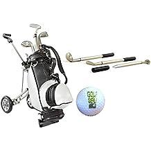 Komplettset Golfgeschenke,Golftrolley, Golf-Kugelschreiber,Golfball