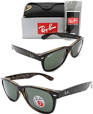 Ray-Ban para mujer polarizadas protección UV gafas de sol de color marrón