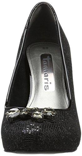 Tamaris 22442, Scarpe con Tacco Donna Nero (BLACK 001Black 001)