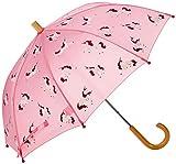 Hatley Mädchen Regenschirm Printed Umbrellas, Pink (Majestic Unicorns), Einheitsgröße