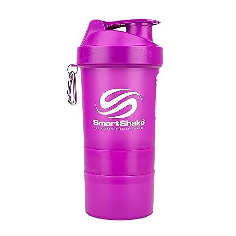 SmartShake Original Serie Lila (400ml)–Shaker Cup