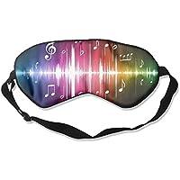 Comfortable Sleep Eyes Masks Music Printed Sleeping Mask For Travelling, Night Noon Nap, Mediation Or Yoga preisvergleich bei billige-tabletten.eu