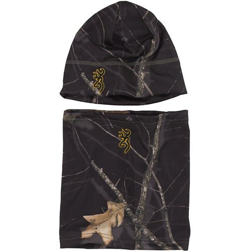 Browning Yukon Combo Beanie and Gator Mossy Oak Midnight by Browning