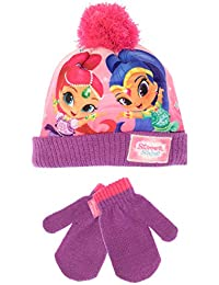 d974cc08ce3 Shimmer and Shine Girls Hat   Gloves Set One Size