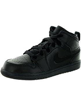 Nike Boy 's Air Jordan 1(Mid) Zapatillas de Baloncesto