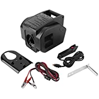 Heavy Duty Professional 12V 2000LB Boat Trailer Electric Recovery Winch Car Vehicle ATV Quad Puller Windlass Hand Tool