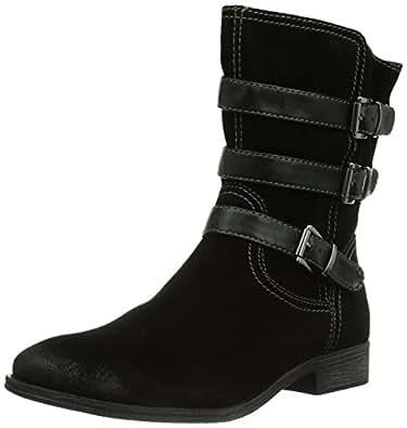 Tamaris 25368, Boots femme - Noir (Black Uni 7), 40 EU