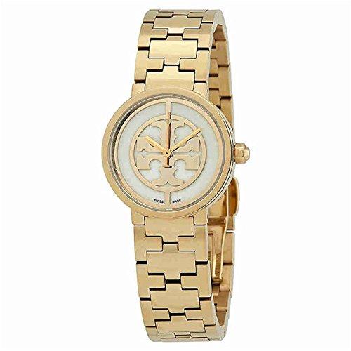 TORY BURCH REVA Damen-Armbanduhr 29MM Armband Edelstahl Gold Quarz TRB4011