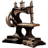 ziwangjun Creativo Retro Nostálgico Modelo de Máquina de Coser Adornos Vintage Máquina de Coser Figuras Muebles