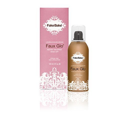 Fake Bake Faux Glo Instant Tan Spray 120 ml, 1er Pack (1 x 120 ml) (Body Tanning Wash)