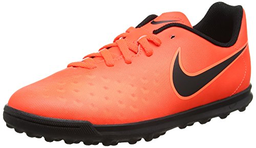 Nike Unisex-Kinder Magista X Ola II TF Fußballschuhe, Orange (Total Rouge Crimson/Black-Bright Mango), 38 EU
