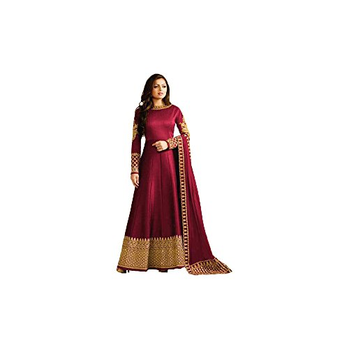 FKART Multi Color Latest Designer Party Wear, Traditional Anarkali Salwar Suit/ Long...