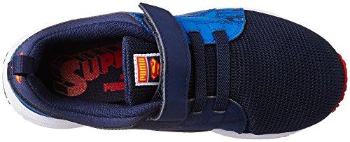 Puma Carson Runner Superman V Enfants, Scarpe Da Corsa Unisexe - Bambini Blu (bleu (bleu-bleu Princesse 01))