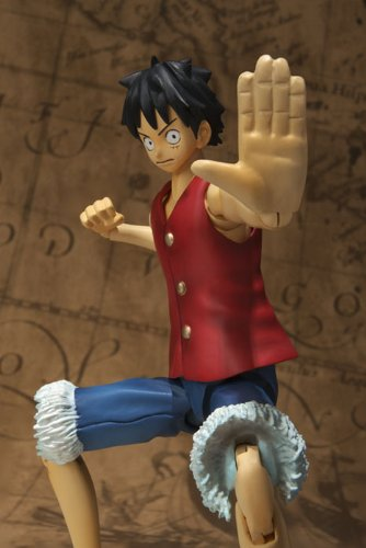 One Piece Bandai S.H. Figuarts 6 Inch Super Articulated Figure Monkey D. Luffy (japan import) 4