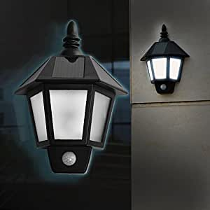 Agptek applique murale solaire led lampe lumi re ext rieur for Applique murale exterieur etanche