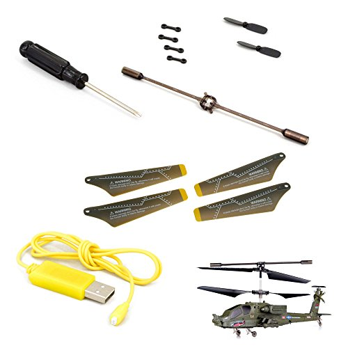 Ersatzteile-Set Go-Kit von Syma für Apache S109G, RC ferngesteuerter Hubschrauber, Modellbau, Helikopter, Neu