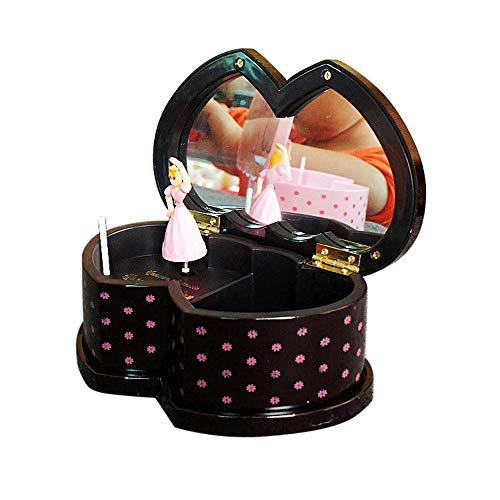 Nibesser Magische Fee Bezauberndes Schmuckkästchen Schmuck Spieldose Schmuckschatulle - Spieluhr für Kinder -