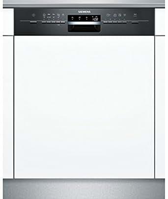 Siemens SN55L602EU Semi intégré 12places A+ lave-vaisselle - lave-vaisselles (Semi intégré, Full size (60 cm), Noir, boutons, LED, 12 places)