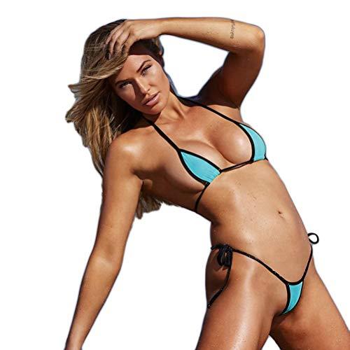 Daxoon 2019 Heiße Damen Sexy Bikini,Thong Bikini Set,Beach Sunbathing Swimsuit Costumes&Monokini Bademode(S-XL)