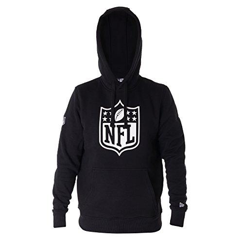 Big Logo Hoodie (New Era Herren Kapuzenpullover NFL Logo Hoodie Schwarz (XL))