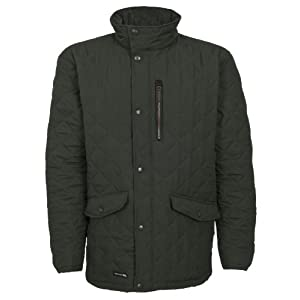 trespass argyle men's quilted jacket