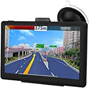 Garsent GPS-Navigation, 7-Zoll-LCD-Bildschirm, Auto-Audio-Video-Player-Monitor, GPS-Navigationsgerät, Sprach-V