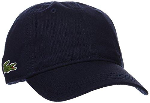 Lacoste Jungen Kappe Rk3106, Blau (Marine), Medium (Herstellergröße: 6/9 A)