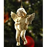 VR CREATIVES Gold Angel for The Christmas The Beautiful Decoration on The Christmas Tree Pack of 6