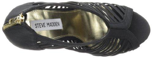 Steve Madden Wresse Synthétique Sandales Compensés Black