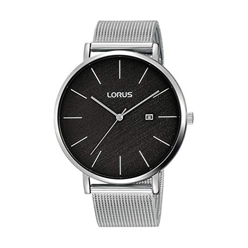 Lorus RH901LX8 Reloj Hombre Plateado y Negro Nuevo 2019