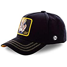 Dragon Ball Z Goku Trucker. Capslab Gorra Vegeta Saiyan Negra Collabs
