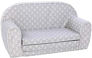Knorrtoys Knorrtoys.COM 68443Maritim Grey sofá Infantil