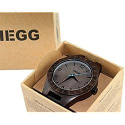 Holz Uhr (Sandelholz) - HEGG