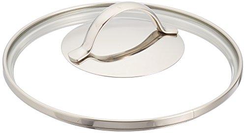 WMF Provence Plus - Tapa de cristal, diámetro 16 cm, apto para lavavajillas, mango de metal