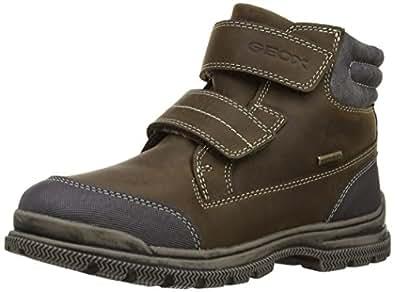Geox Jr William B Abx, Boots garçon - Marron (Chestnut), 26 EU