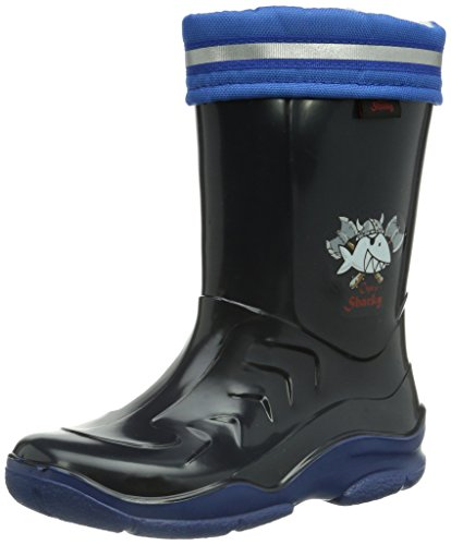 Capt'n Sharky 120107 Jungen Halbschaft Gummistiefel Blau (blau/royal)
