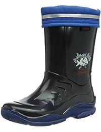 Capt?n Sharky Jungen Gummistiefel, blau/royal, 120107-5
