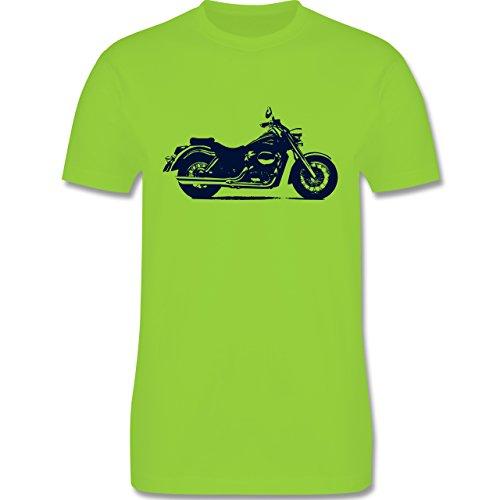 Motorräder - Motorrad - Herren Premium T-Shirt Hellgrün