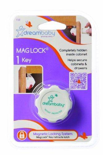 Kit Baby-proofing (Dreambaby Mag Lock – 1 Lock (weiß))