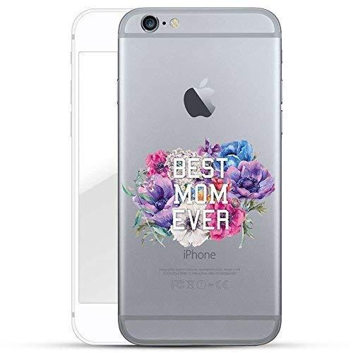 Finoo TPU Handyhülle für dein Iphone 6/6S Made In Germany Hülle mit Motiv und Optimalen Schutz Silikon Tasche Case Cover Schutzhülle für Dein Iphone 6/6S-Best Mom Ever