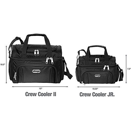 eBags Kühltasche Crew Cooler II (Tiefschwarz) Grau