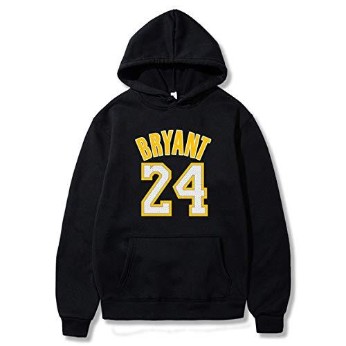JX-PEP Männer und Frauen # 24 Kobe Bryant Hoodie Basketball-Sakko Loser Breath Langarm-Sweatshirt (S-3XL),C,XXL