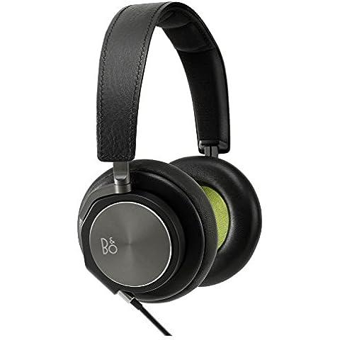 B&O BeoPlay H6 - Auriculares de diadema cerrados (3.5 mm, driver de 40 mm, micrófono, 20 Hz - 22 kHz), color negro