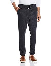 Quiksilver–Pantalones de chándal FONIC Forro Polar Joggers Negro gris antracita Talla:small