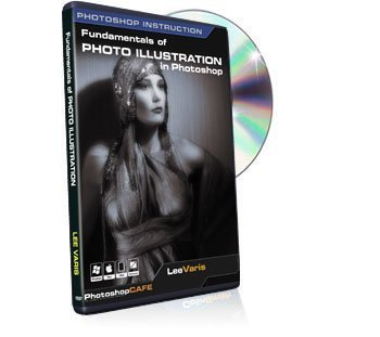 Learning the Fundamentals of Photo Illustration Training DVD - Best Tutorial Video on Image Creation in photoshop by Lee Varis
