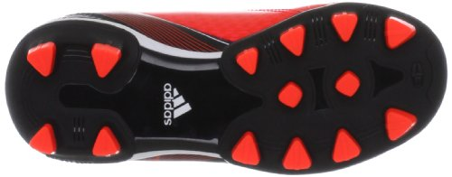 adidas F10 Traxion HG, Chaussures de football garçon Rouge - Rot (infrared / running white ftw / black 1)