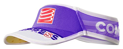 Compressport Ultralight - Visera unisex, color morado, talla única