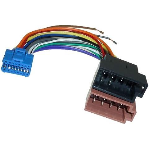 Pioneer DIN ISO cable de coche para Radio Adaptador conector cable AVIC X1 AVIC X1BT AVIC X1R