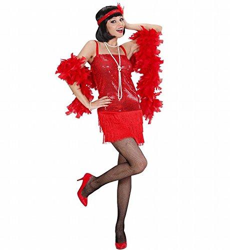 Widmann 70323 - Erwachsenenkostüm Charleston - Kleid und -